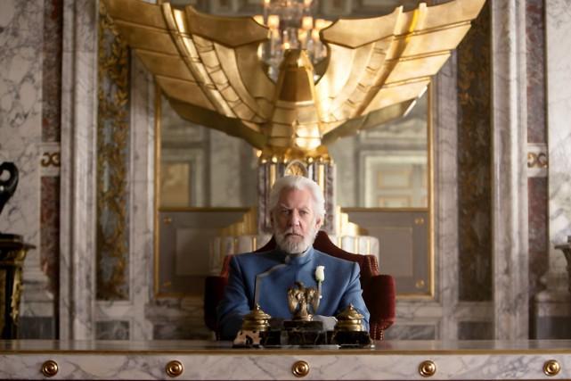 L'acteur canadien Donald Sutherland qui incarne le machiavélique... (Photothèque Le Soleil)