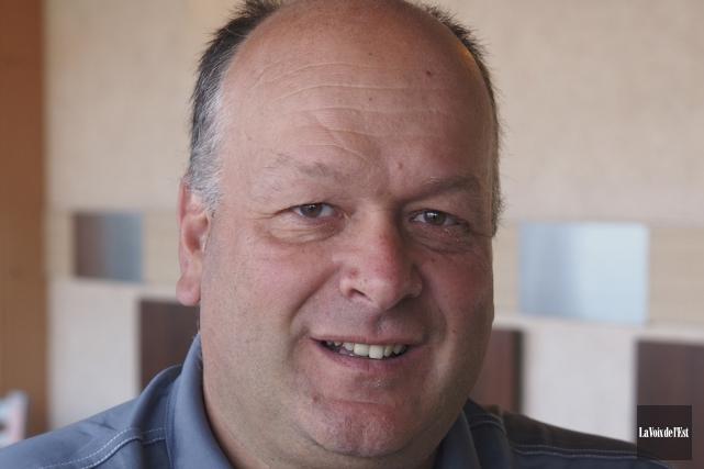 François Giasson, directeur général de la Ville.... (Alain Dion, Archives La Voix de l'Est)