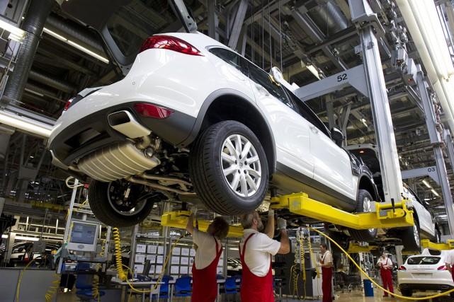 Porsche suspend la vente des modèles diesel de... (AFP, John MacDougall)