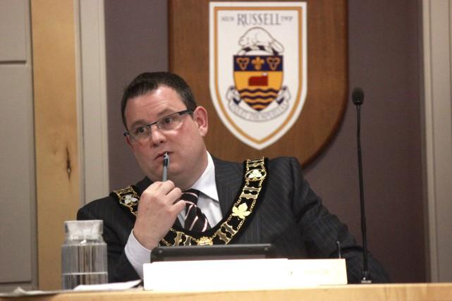 Le maire du canton de Russell, Pierre Leroux... (Martin Brunette, Le Droit)