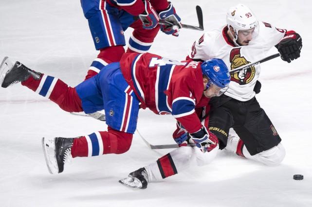 Le Canadien a subi sa première défaite à... (PC, Paul Chiasson)