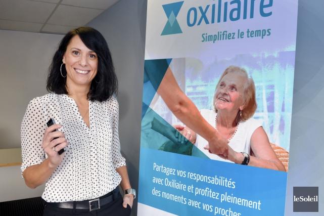 La présidente d'Oxiliaire, Mylène Bédard... (Le Soleil, Jean-Marie Villeneuve)