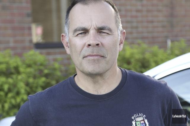 Frédéric Boulet, président de la Fraternité des policiers... (photo Julie Catudal, archives La Voix de l'Est)
