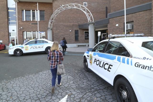 Le cégep de Granby fait partie des 64 établissements scolaires, au Québec et en... (photo Janick Marois)