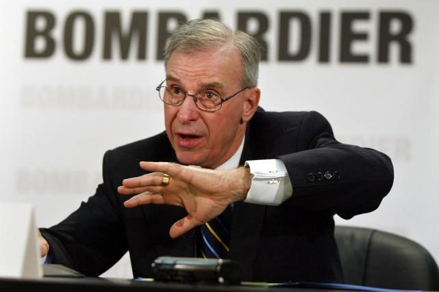 PaulTellier, qui a été président de Bombardier en... (Photo archives La Presse Canadienne)