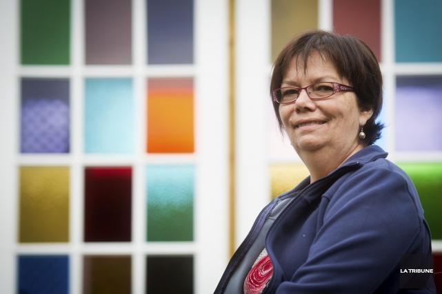 Suzanne Nadeau-Whissell, cette infirmière retraitée atteinte de la... (Imacom, Jessica Garneau)