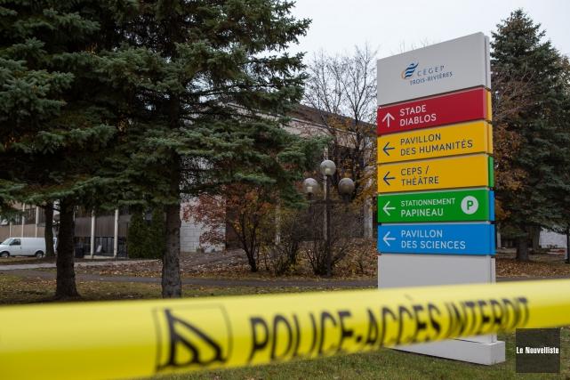Le Cégep de Trois-Rivières a reçu le courriel... (Photo: Olivier Croteau Le Nouvelliste)