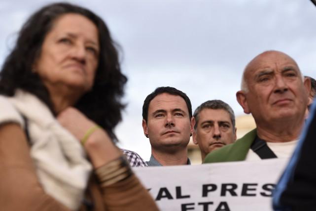 «Seuls les citoyens basques doivent décider du futur... (PHOTO ANDER GILLENEA, ARCHIVES AFP)