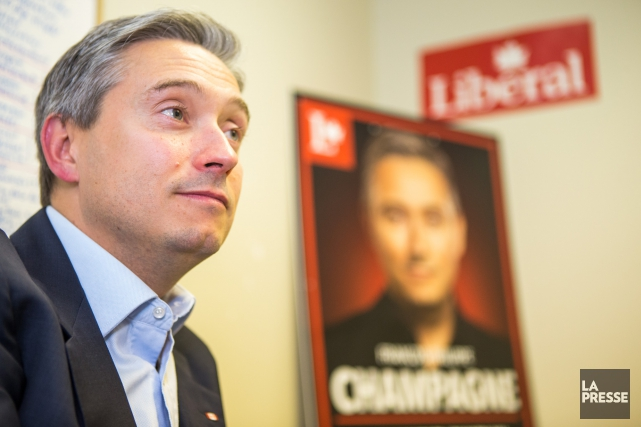 Le député de Saint-Maurice François-Philippe Champagne ne fait... (Olivier Croteau)