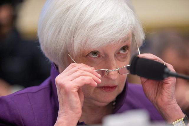 «Actuellement, j'estime que l'économie des États-Unis se porte... (Photo AP)