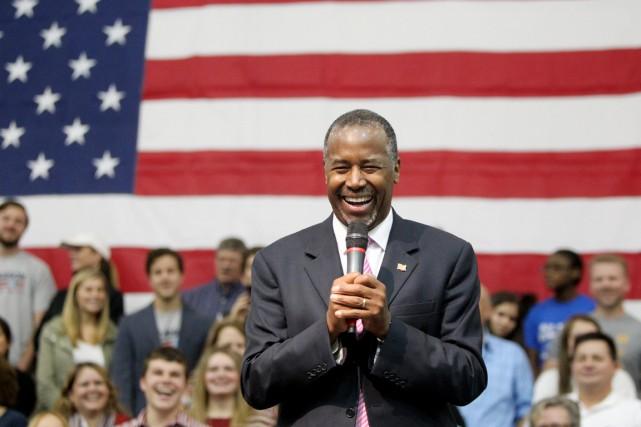 La montée de Ben Carson dans les sondages,... (PHOTO NIKKI BOERTMAN, ARCHIVES THE COMMERCIAL APPEAL/AP)