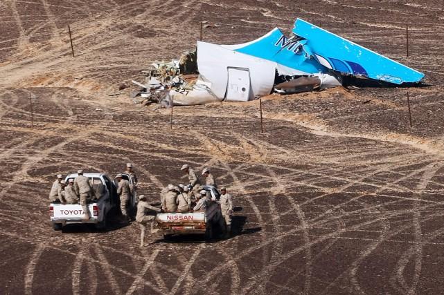 Sur cette photo diffusée le 2 novembre par... (PHOTO MAXIM GRIGORIEV, ARCHIVES MINISTÈRE RUSSE DES SITUATIONS D'URGENCE/AP)