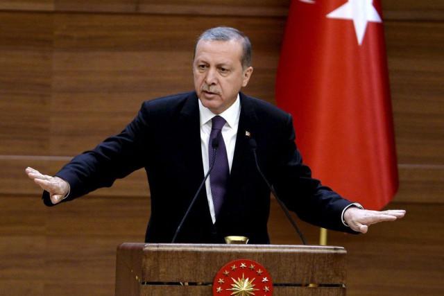 Le président turc Recep Tayyip Erdogan... (PHOTO ADEM ALTAN, AFP)