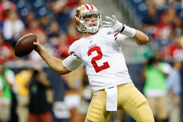Blaine Gabbert... (Photo Kevin Jairaj, archives USA Today)
