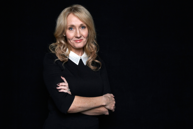J.K. Rowling... (Photo Dan Hallman, archives AP)