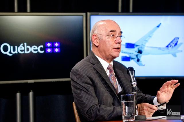 Le ministre de l'Économie, Jacques Daoust.... (Photo Marco Campanozzi, La Presse)