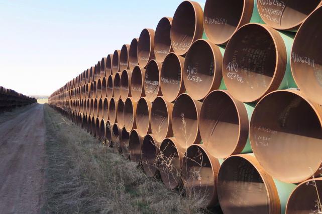 Une décision importante sur l'oléoduc Keystone XL sera rendue la semaine... (Photo archives PC)