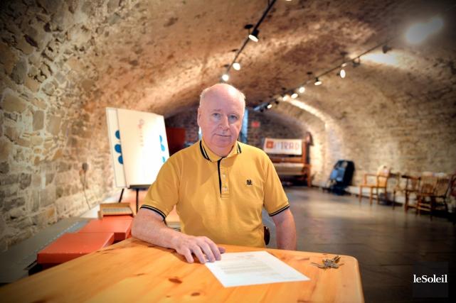 Le directeur général du Centre de valorisation du... (Photothèque Le Soleil, Pascal Ratthé)