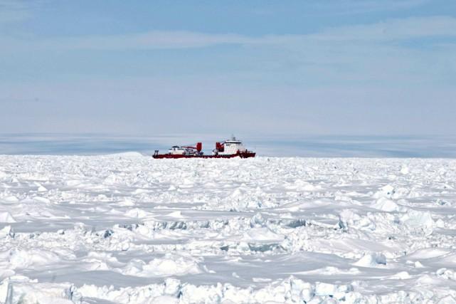 L'accumulation annuelle de neige sur la côte ouest de l'Antarctique a été plus... (PHOTO REUTERS)