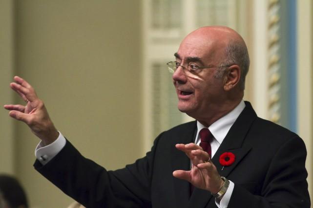 Le ministre de l'Économie Jacques Daoust s'est défendu,... (La Presse Canadienne)