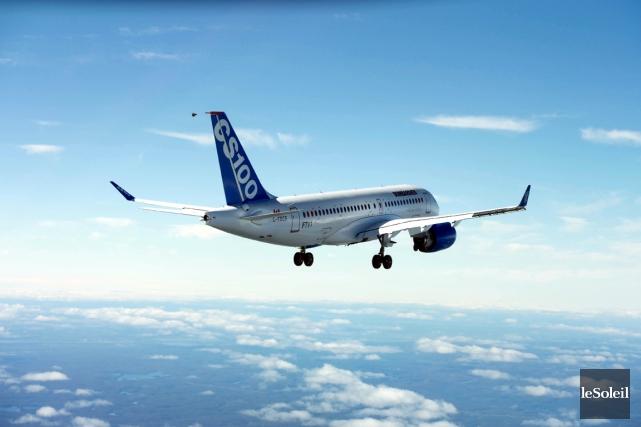 L'avion CS100 de Bombardier... (Photothèque Le Soleil)