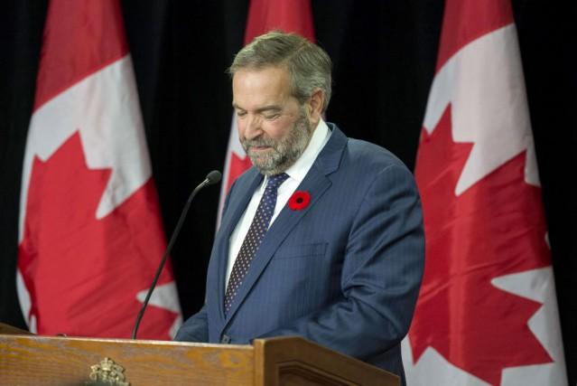 Le chef néo-démocrate souhaite un examen «complet et... (La Presse Canadienne, Justin Tang)