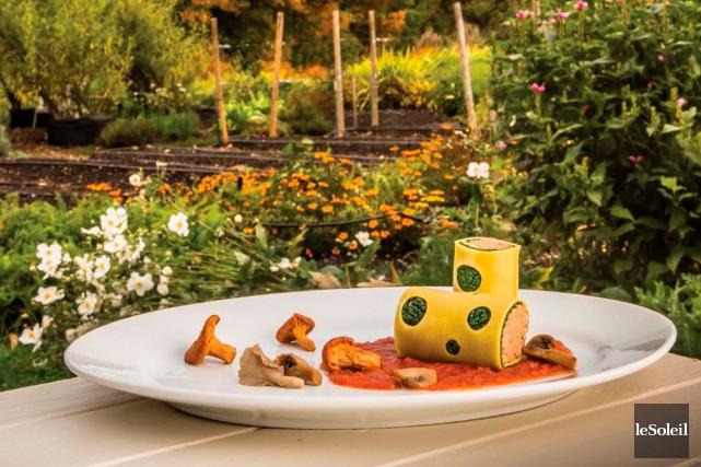 Cannellonis aux champignons sauvages et au chou... (Photothèque Le Soleil)