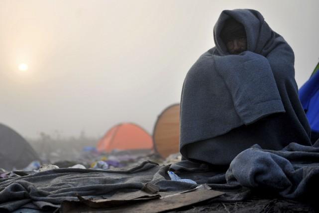 «Les familles qui cherchent désespérément à savoir ce... (AFP, Elvis Barukcic)