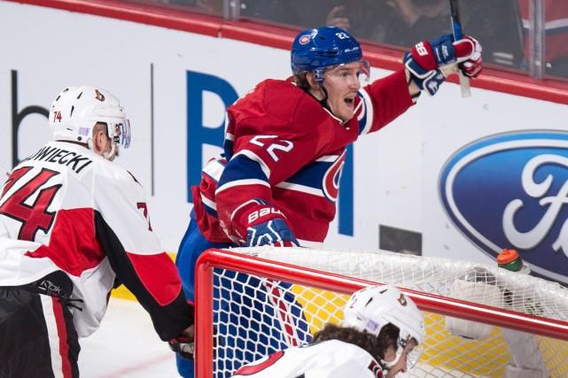 Dale Weise a déjà sept buts à sa... (La Presse Canadienne, Paul Chiasson)