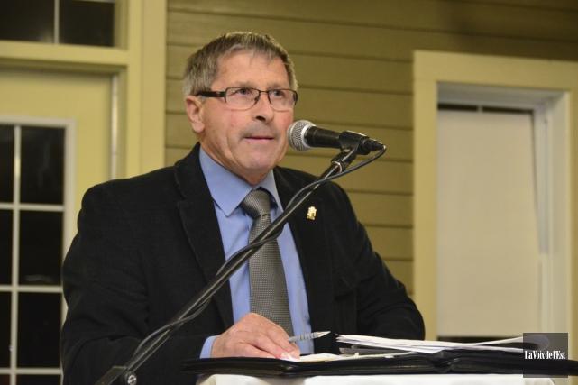 Le maire de Farnham, Josef Hüsler.... (Archives La Voix de l'Est)