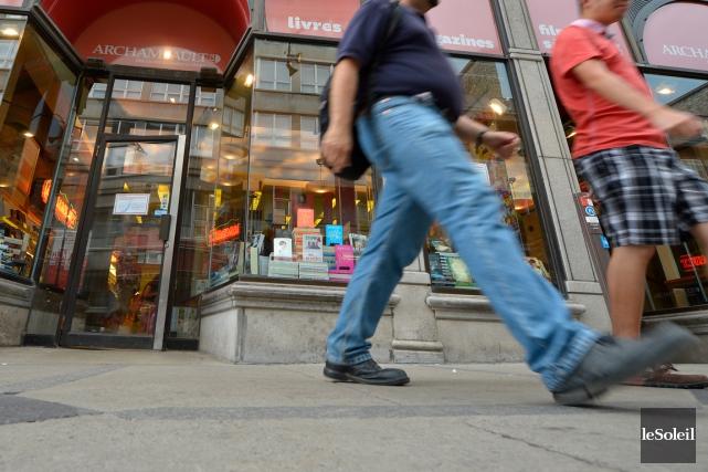 L'ancien magasin Archambault deviendra un lieu de diffusion... (Photothèque Le Soleil, Yan Doublet)