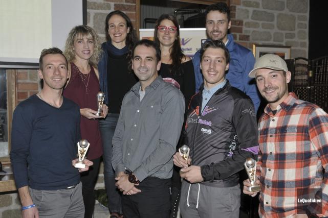 Une cinquantaine de personnes ont participé au premier gala du Circuit des... (Photo Le Quotidien, Rocket Lavoie)