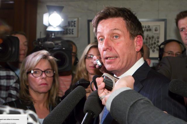 Le ministre par intérim de la Sécurité publique... (La Presse Canadienne, Clément Allard)