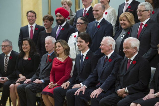Le gouverneur général David Johnston s'est joint au... (La Presse Canadienne)