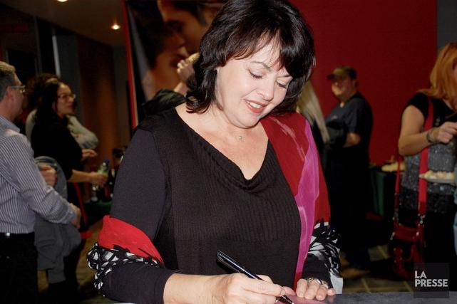 L'écrivaine et comédienne Louise Portal est une habituée... (Collaboration spéciale, Johanne Fournier)