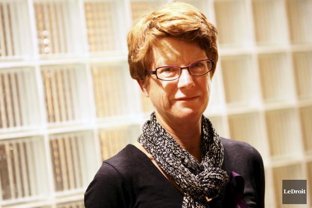 La professeure Holly Johnson a réalisé l'enquête entre... (Simon Séguin-Bertrand, LeDroit)