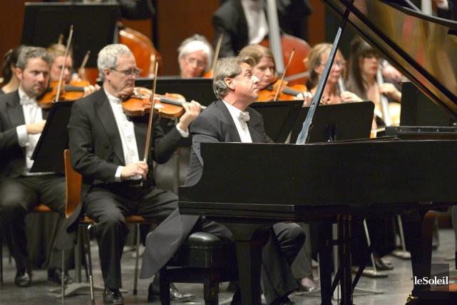 Alain Lefèvre est un musicien entier. Il se... (Le Soleil)