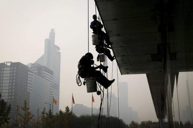 La Chine a approuvé un budget de 58,41 milliards de yuans, soit un peu plus de... (Andy Wong, AP)