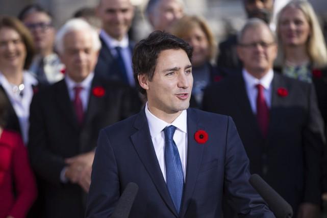 Le fait que le nouveau premier ministre fédéral... (AFP, Geoff Robins)