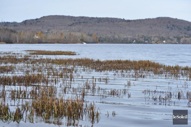 Une étude oulignait la détérioration continuelle du lac... (Le Soleil, Yan Doublet)