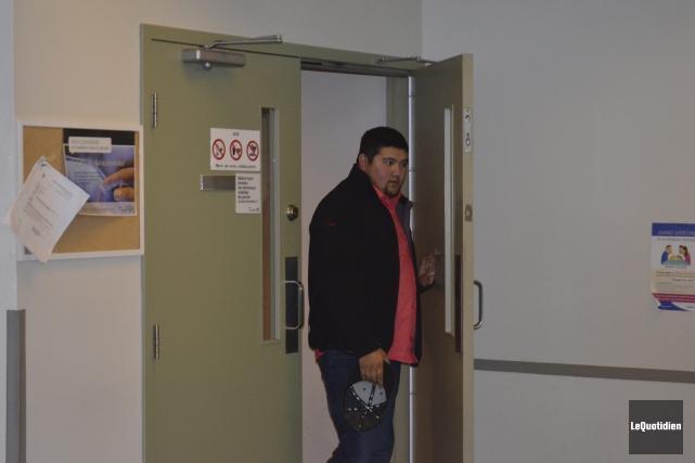 Lors d'un interrogatoire survenu le lendemain de la... ((Photo Le Quotidien Louis Potvin))
