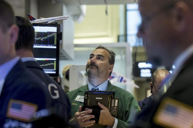 «On retrouve de l'aversion pour le risque à... (PHOTO BRENDAN MCDERMID, REUTERS)