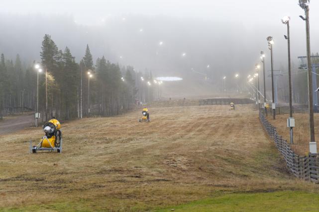 Les températures chaudes en Finlande signifient que les... (Photo Janne Koskenniemi, archives AP)