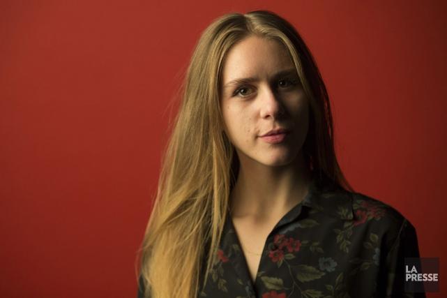 Lydia Képinski... (PHOTO IVANOH DEMERS, LA PRESSE)