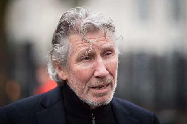 Roger Waters, fondateur de Pink Floyd, refuse ouvertement... (PHOTO LEON NEAL, ARCHIVES AFP)