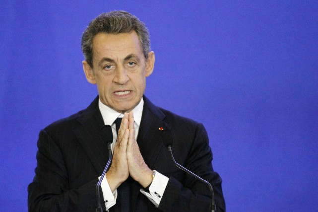 Entendu par la police en septembre, Nicolas Sarkozy,... (PHOTO MATTHIEU ALEXANDRE, ARCHIVES AFP)