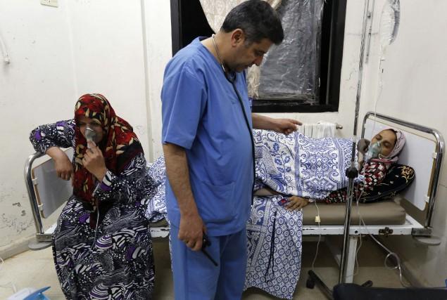 Les accusations de recours aux armes chimiques par... (PHOTO ARCHIVES REUTERS)
