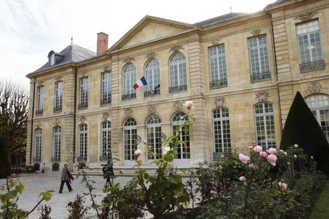 L'historique musée Rodin de Paris, qui était jusqu'à tout récemment en bien... (PHOTO AFP)