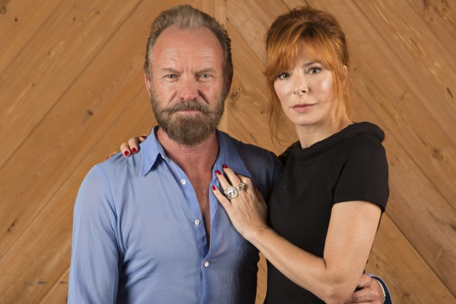 Sting et Mylène Farmer... (PHOTO AP)