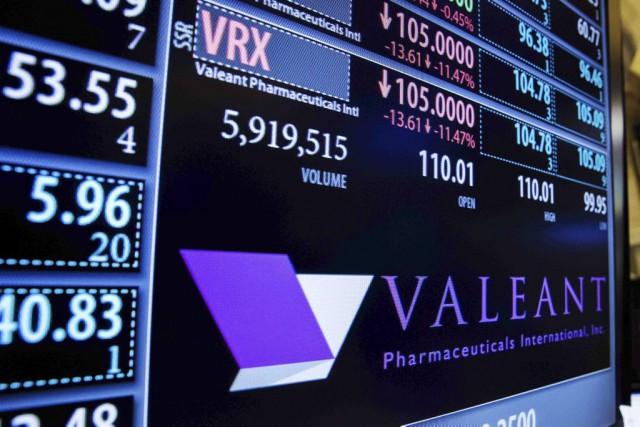Le titre Valeant a fermé la journée à... (PHOTO LUCAS JACKSON, ARCHIVES REUTERS)